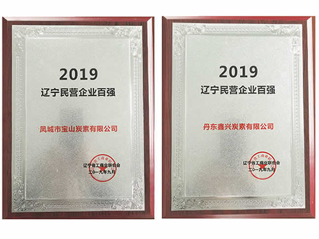 Liaoning Top 100 Private Enterprises<